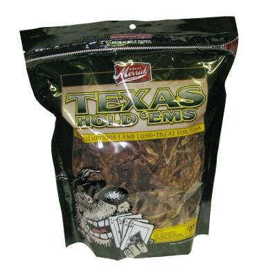 Merrick Texas Hold'ems Lamb Lung Dog Treat 10oz