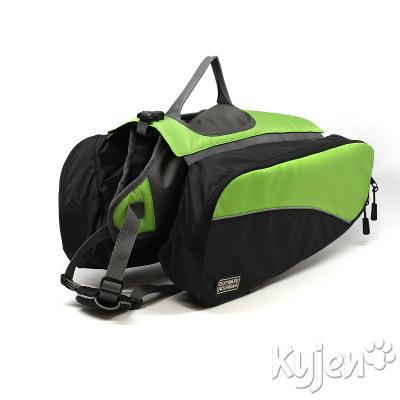 Outward Hound Large Green Backpack for Dogs