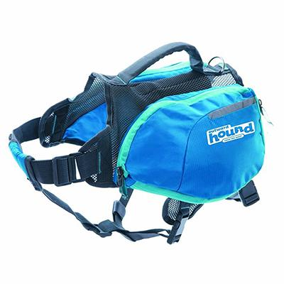 Outward Hound Medium Blue Backpack for Dogs