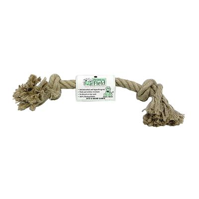 Tug-a-Hemp Large Natural Hemp Rope Bone Dog Toy