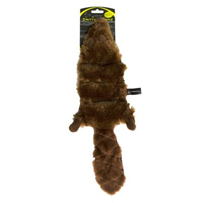 Critter Skinz Squeaker Beaver XLarge Stuffing Free Dog Toy