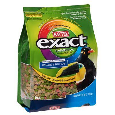 Kaytee Exact Rainbow Softbill Bird Food 2.5 pound