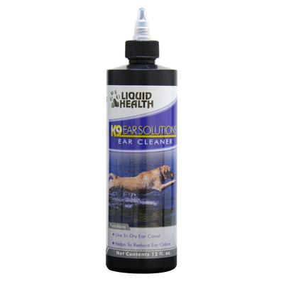 Liquid Health K9 Ear Solutions Ear Cleaner 12oz