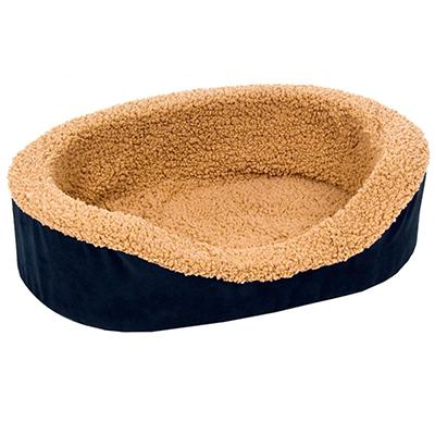 Classic Small Lounger Bed for Dogs and Cats