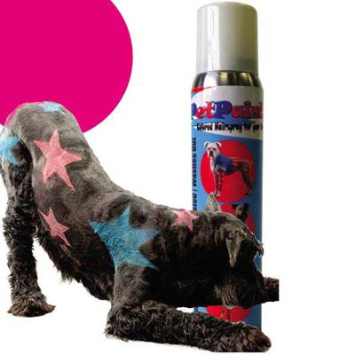 Pet Paint Red Color Spray for Dogs 5 oz.