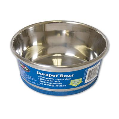 Durapet Premium Stainless Steel Pet Bowl .75 Pint