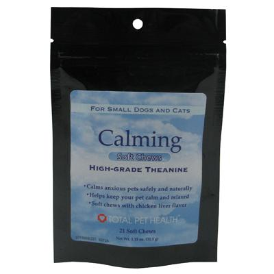 Calming Soft Chews Pet Treats for Small Dogs and Cats 21ct.