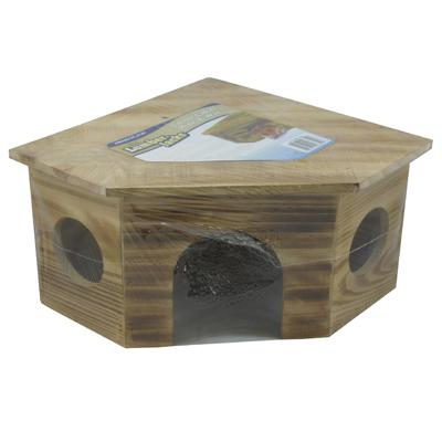 Lumber Jacks Large Corner Cabin Hide-A-Way for Small Animals