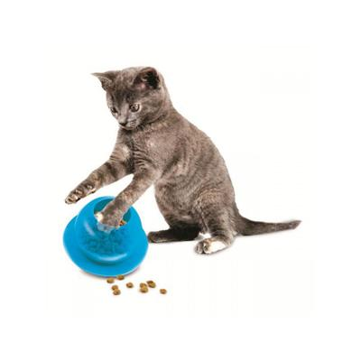 Fishbowl Treat and Food Dispensing Cat Toy