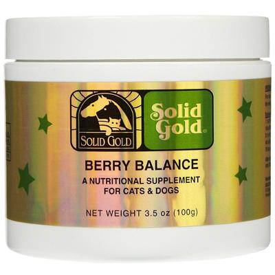 Solid Gold Berry Balance 3.5oz Dog Cat Urinary Supplement