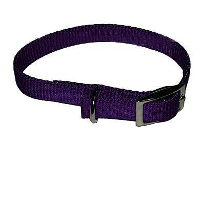 Nylon Dog Collar 5/8 inch Purple 18-inch