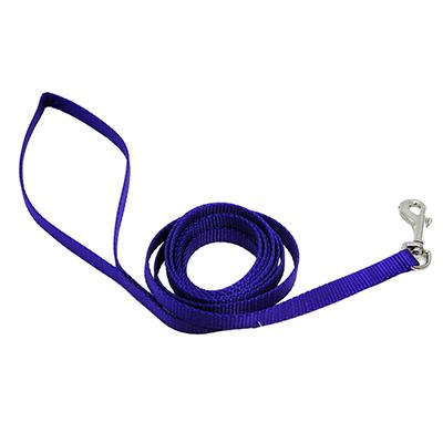 Nylon Dog Leash 3/8-inch x  4 foot Purple