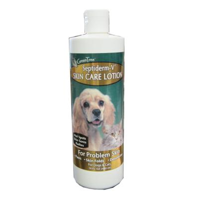 Septiderm Pet Antiseptic Skin Care Lotion 16 ounce