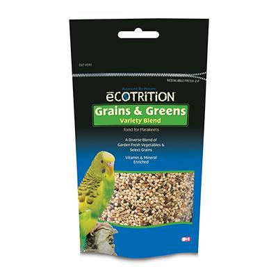 Ecotrition Grains & Greens for Parakeets