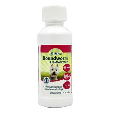 8-1 Excel 4 ounce Dog and Cat Roundworm Treatment