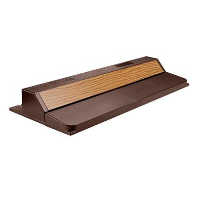 Deluxe Full Aquarium Flourescent Hood 24 Inch Oak