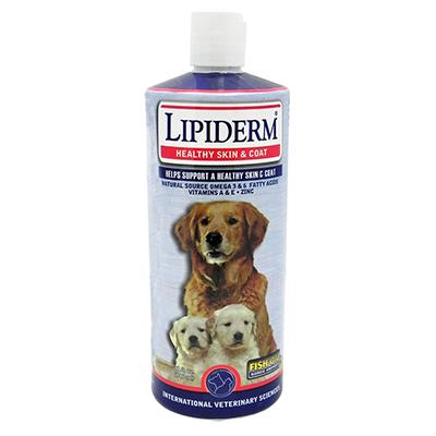 Lipiderm Dog Skin and Coat Supplement 32 ounce