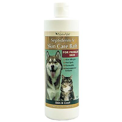 Septiderm Pet Antiseptic Skin Care V Bath 16 ounce