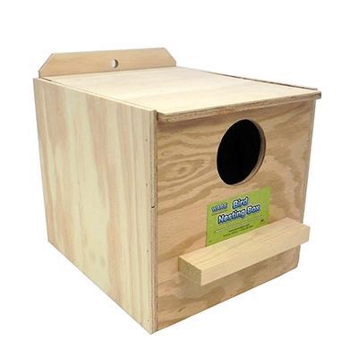 Cockatiel Nest Box Inside of Cage Regular