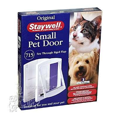 Staywell Dog and Cat Door Sm. 715 White