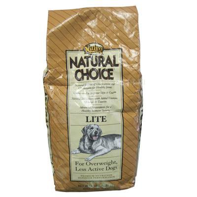 Nutro Natural Choice Lite Adult Dog Food 5 Lb.