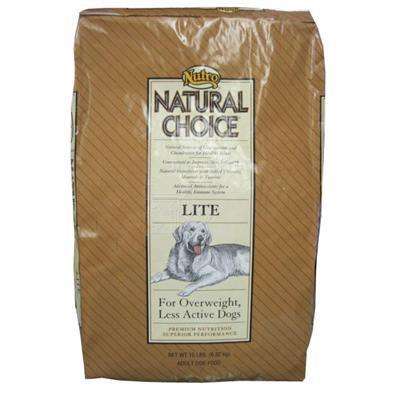 Nutro Natural Choice Lite Adult Dog Food 15 Lb.