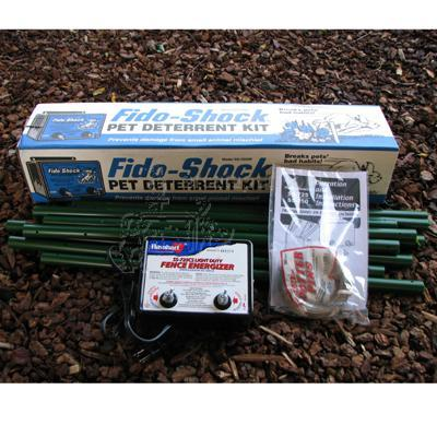 Fido-Shock Pet Deterrent Kit
