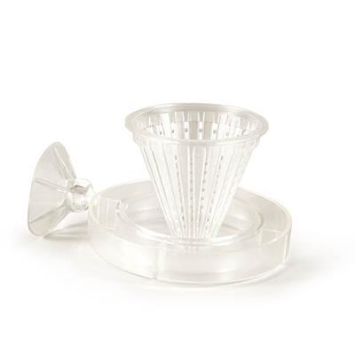 Worm Fish Feeder 4-way Ring and Cone