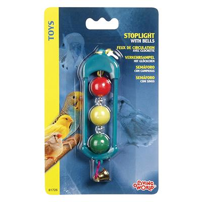Living World Stoplight w/Bell Bird Toy