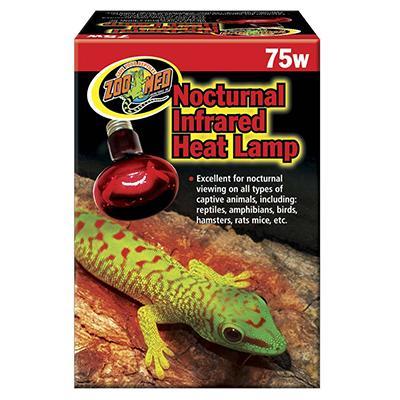Repti Infrared Reptile Heat Lamp Bulb 75 Watt