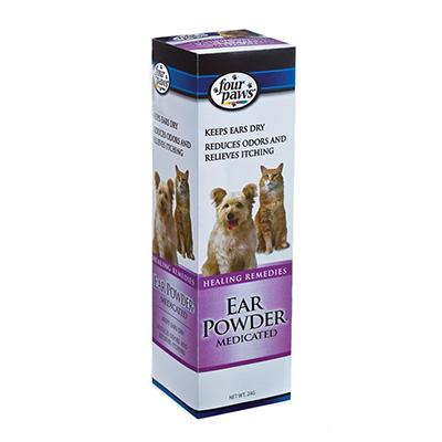 Medicated Dog Ear Powder 4 ounce