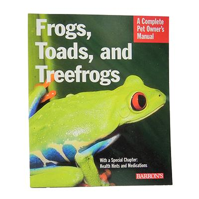Frogs, Toads and Treefrogs Book