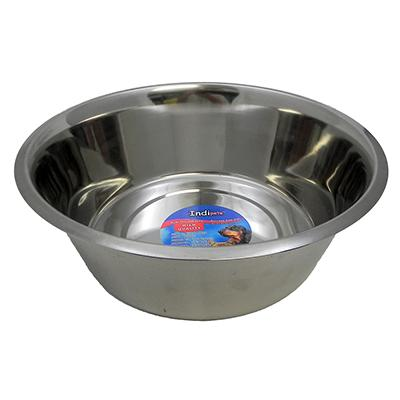 Stainless Steel Dog Food/Water Bowl 7 1/2Qt
