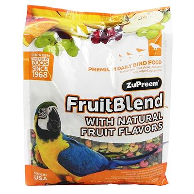 ZuPreem Fruit Blend Large Parrot Food 3.5 pound