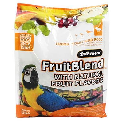 ZuPreem Fruit Blend Large Parrot Food 3.5 pound