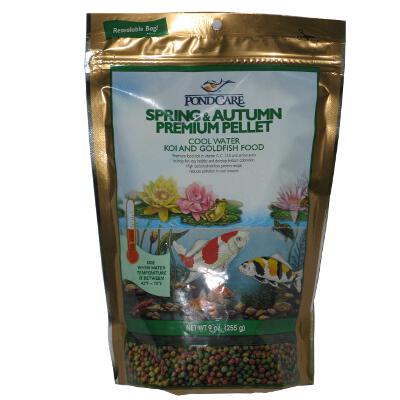 Aquarium Products Pond Food Spring 9 ounce