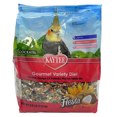 Kaytee Fiesta Cockatiel Bird Food 2.5 lb
