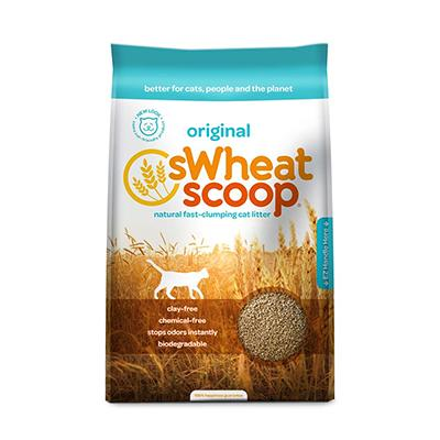 SWheat Scoop Natural Wheat Cat Litter 14 Lb.