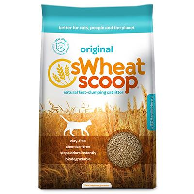 SWheat Scoop Natural Wheat Cat Litter 40 Lb.