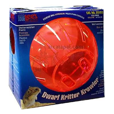Lee's Kritter Krawler 5-inch Colored Hamster Ball