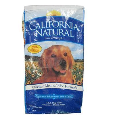 California Natural Chicken & Rice Adult Dog Food 15 lb