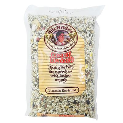 McBrides Conure-Lovebird Bird Seed Mix 2 pound