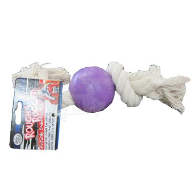 RnR Rope and Ball 2-3/4 inch Dog Toy