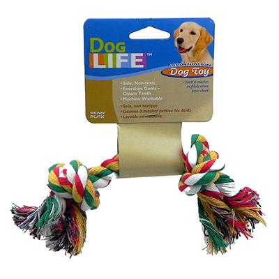 Rope Bone Small Color Dog Toy