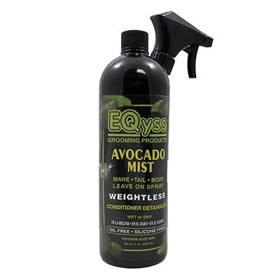 EQyss Avocado Mist Equine Conditioner/Detangler 32 oz