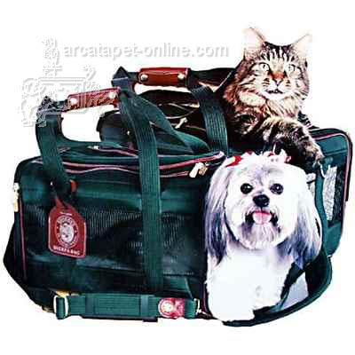 Original Deluxe Sherpa Bag Small Green Pet Carrier