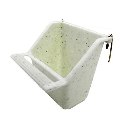 Cup with hooks 2 ounce Bird Food Water