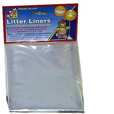 Penn Plax SAM Small Animal Habitat Litter Liner Small