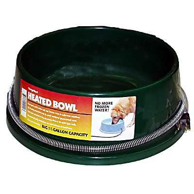 Thermal Heated Dog Bowl 1.5 Gallon