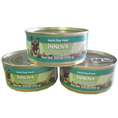 Innova Canine Adult Dog Food Cans Small Case
